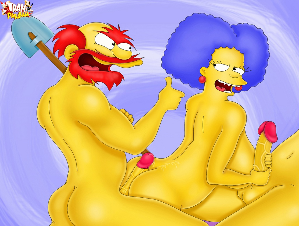 The simpsons naked having hard sex will