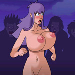 Zombie raped girl